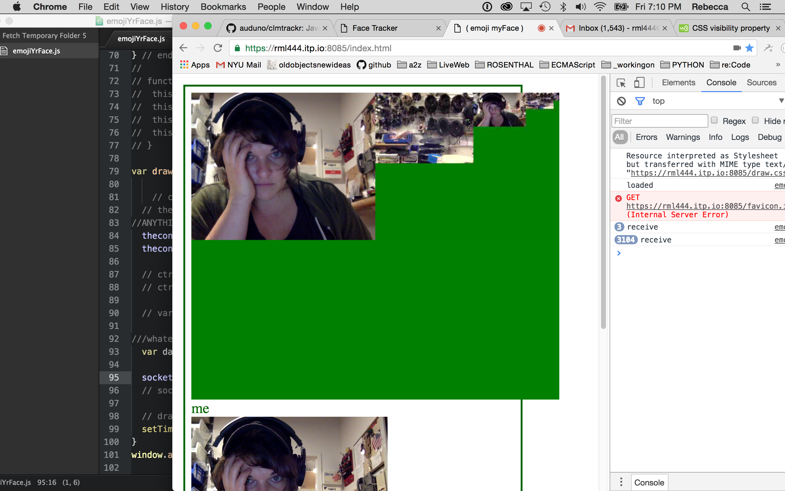 green screen. the struggle is REAL.